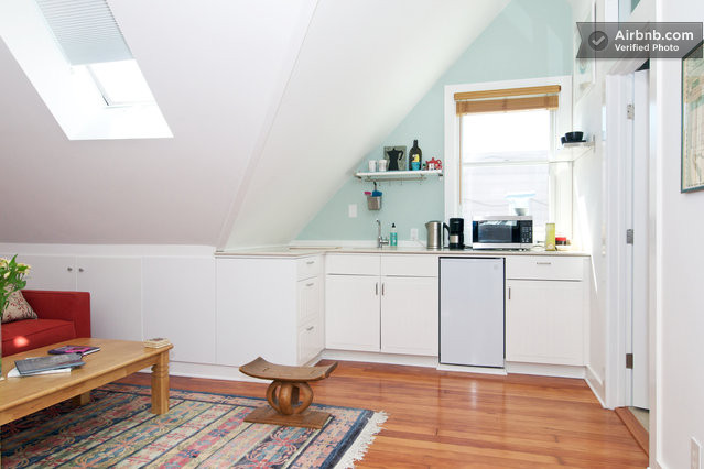 Attic Master Suite With Kitchenette In San Francisco