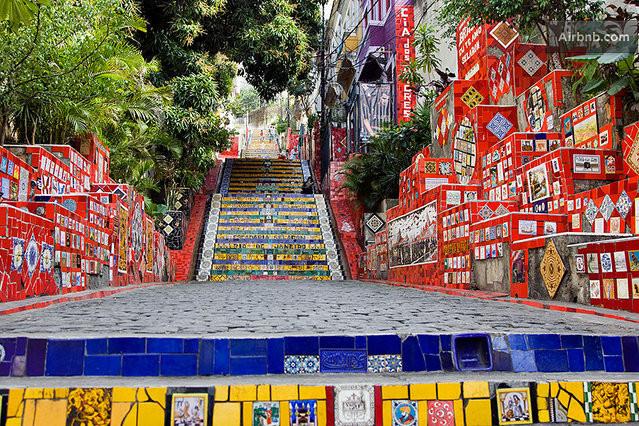 Cultural experience Lapa-Sta Teresa in Rio de Janeiro