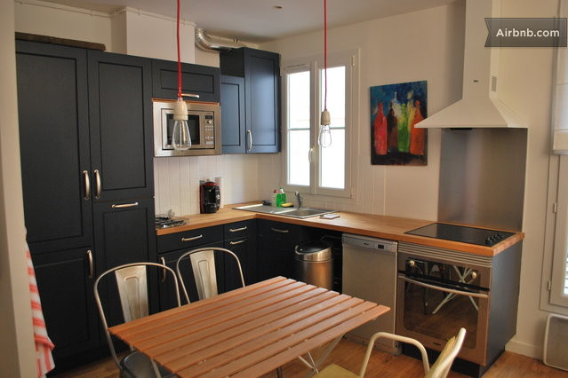 Appartement loft quartier latin in paris for Appartement loft paris