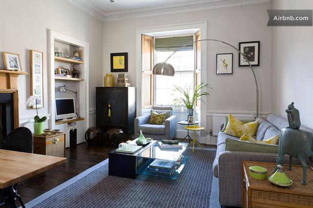 Stylish edinburgh westend apartment in edinburgh for Room interior design edinburgh
