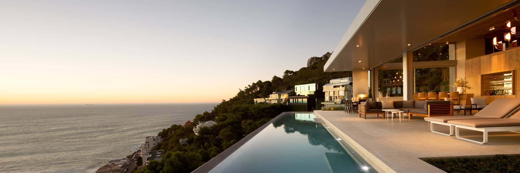 Luxury rentals in Cape Town