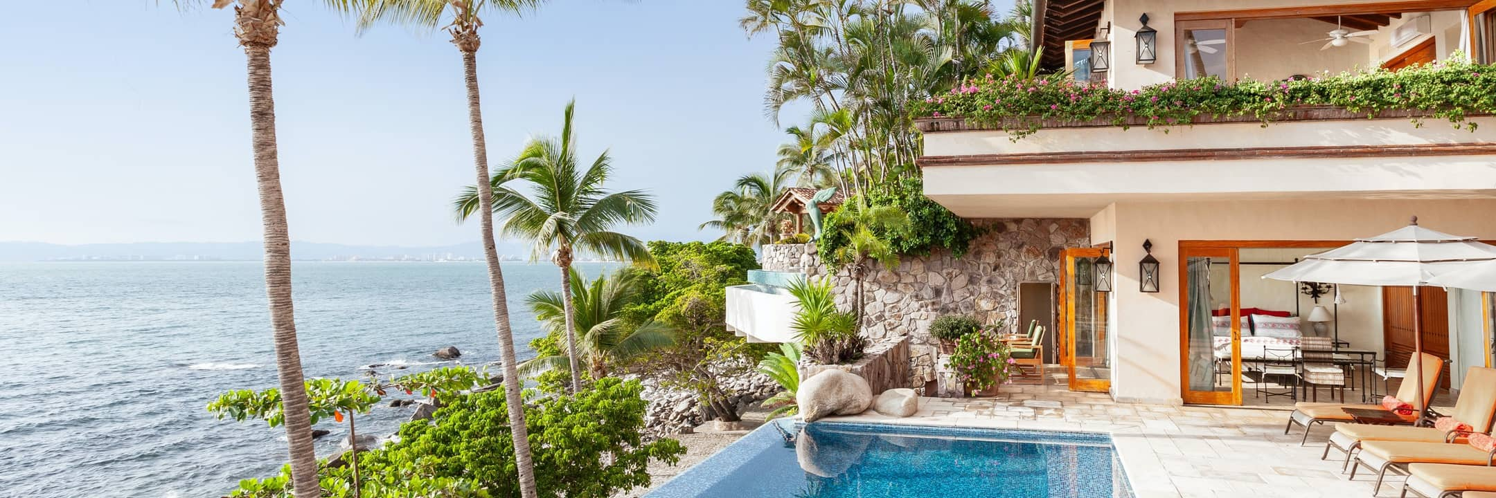 Luxury rentals in Puerto Vallarta