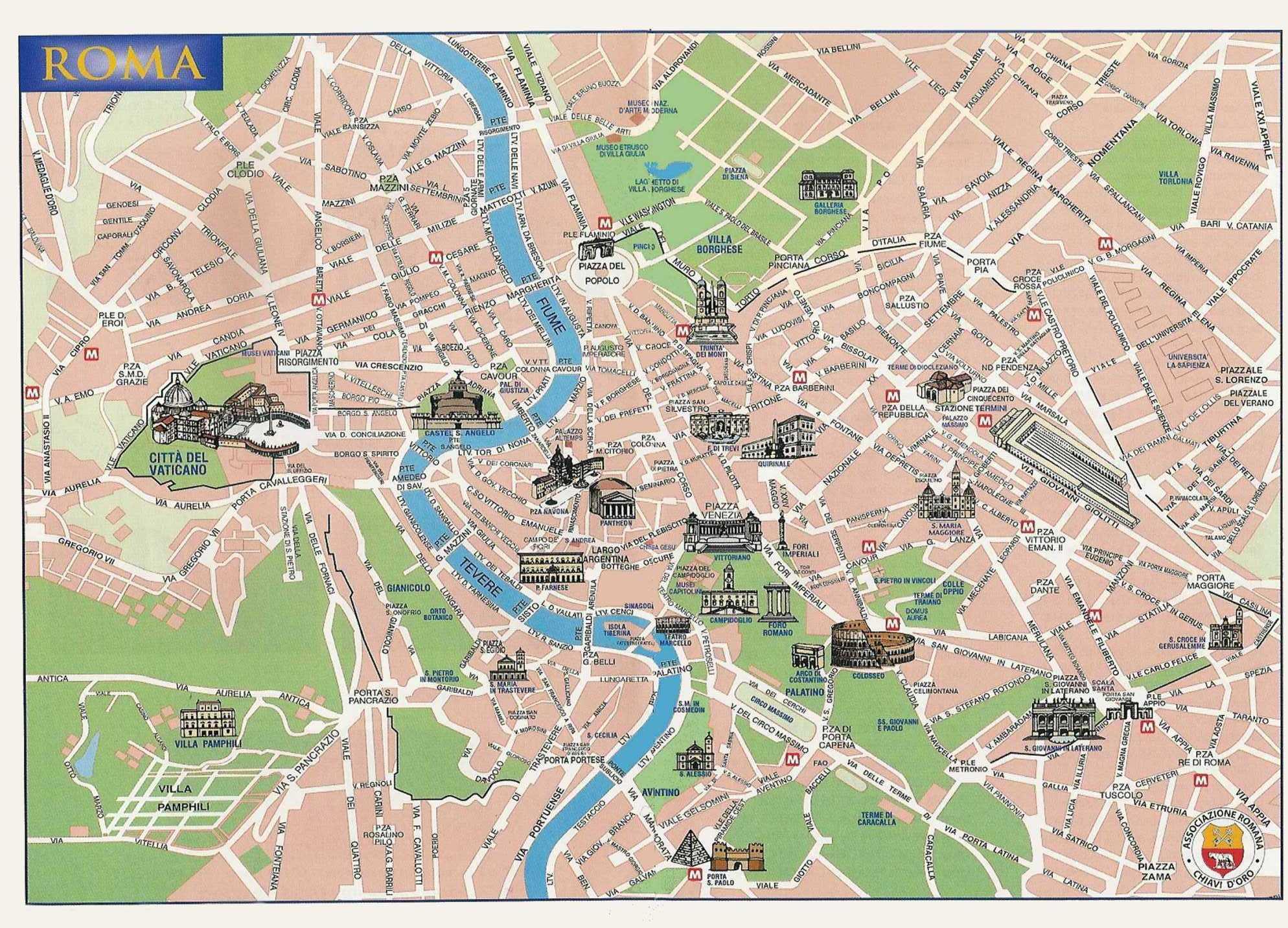 Cartina Roma Centro Monumenti.Nel Cuore Di Roma Appartamenti In Affitto A Roma Lazio Italia