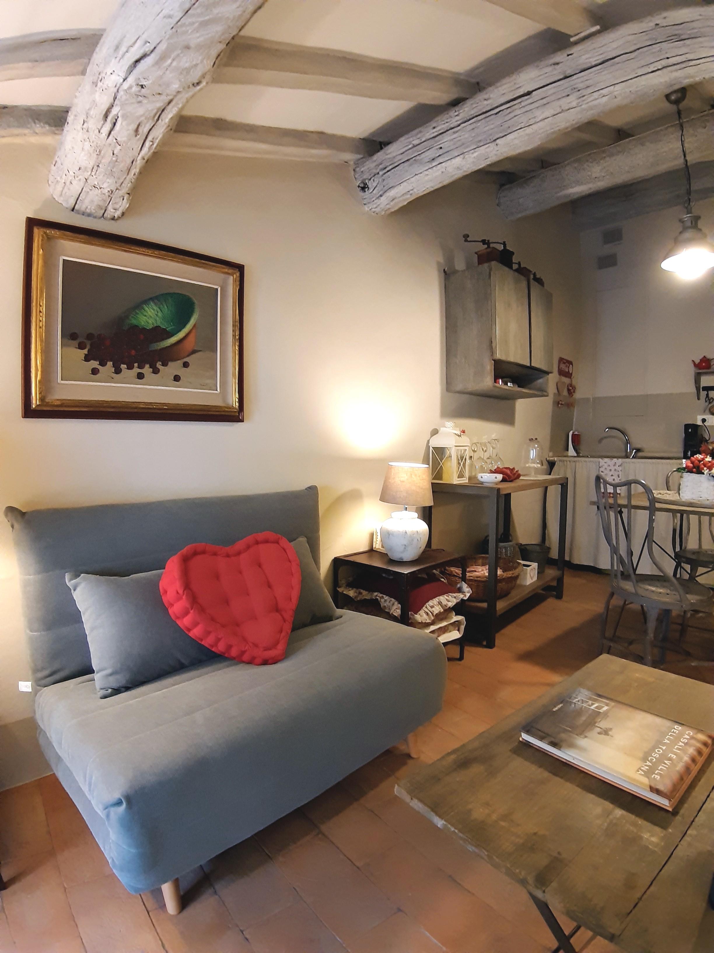 Arredamento Shabby Toscana cortona shabby chic house - apartments for rent in cortona