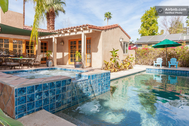 casita luz palm springs guest house in palm springs
