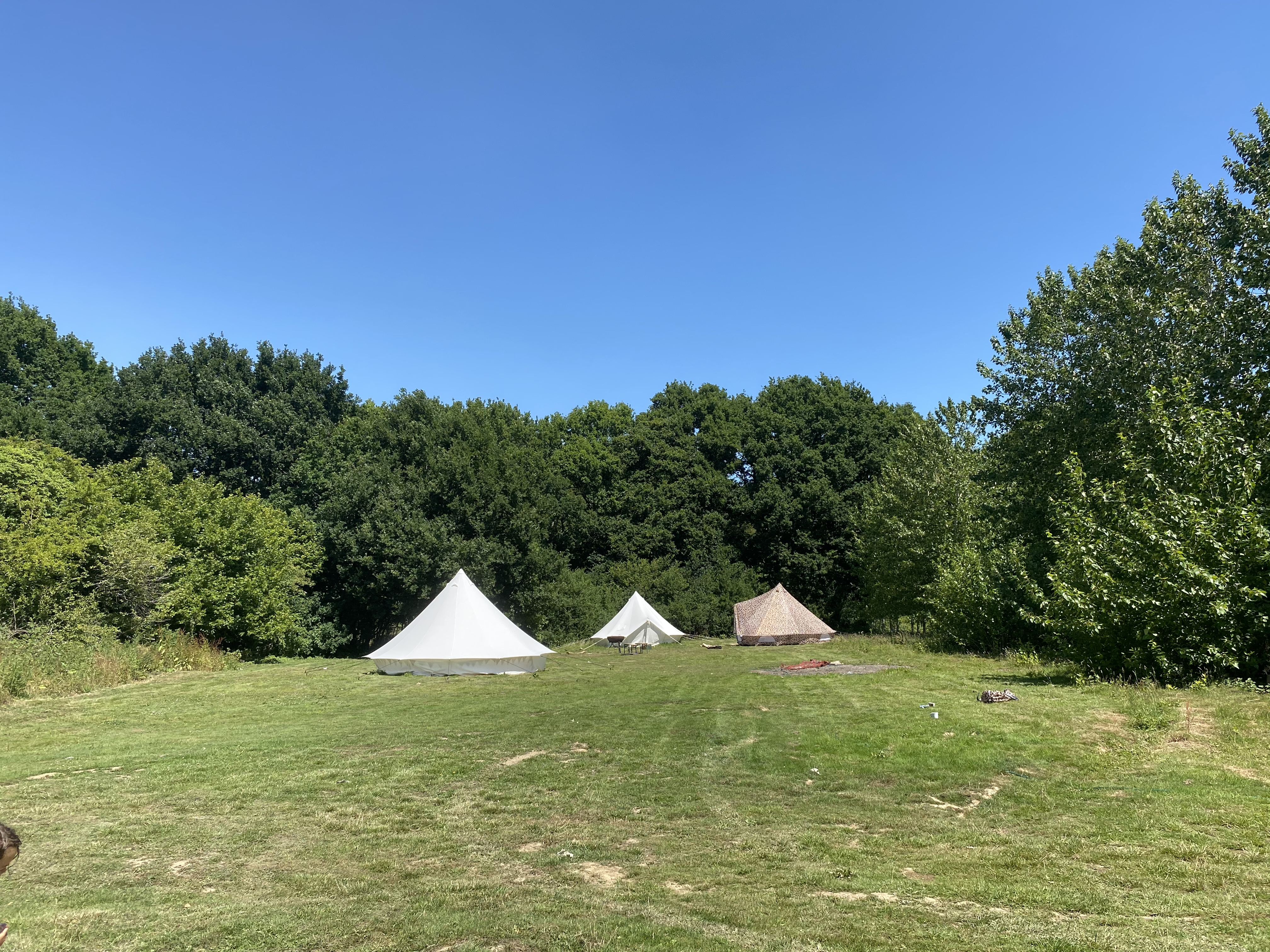bell tents south downs