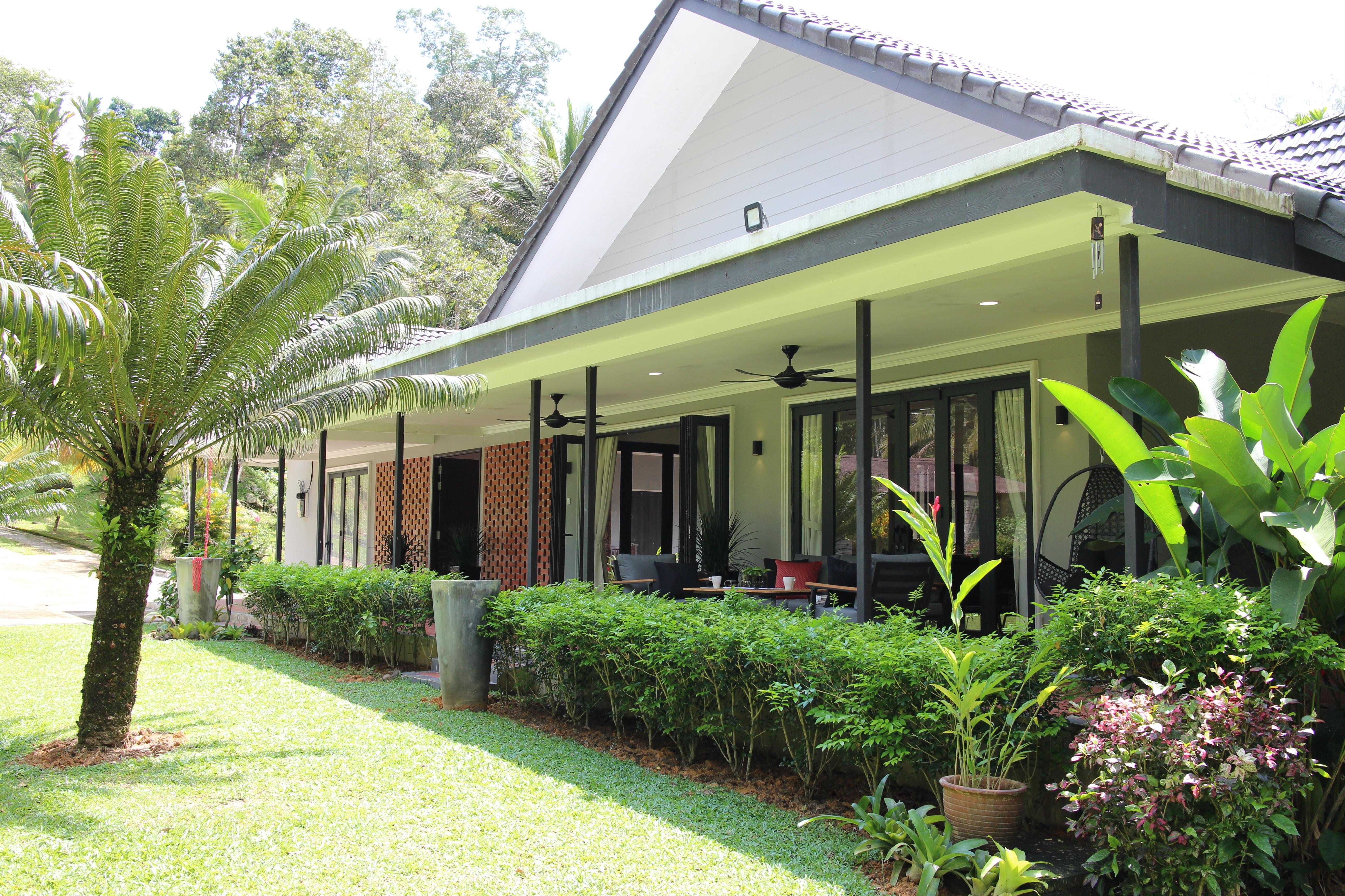 Kenanga Villa Modern Living In Kampung Villas For Rent In Bentong Pahang Malaysia