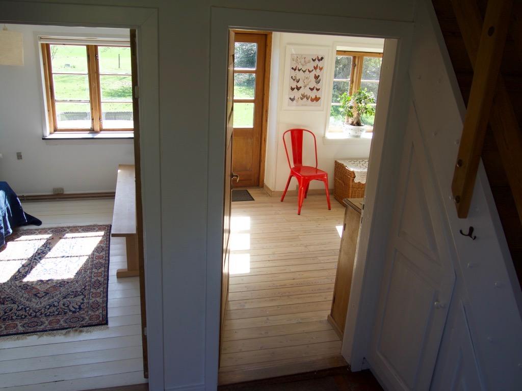 Kridtly charmerende bondehus ved Stevns Klint Casas en
