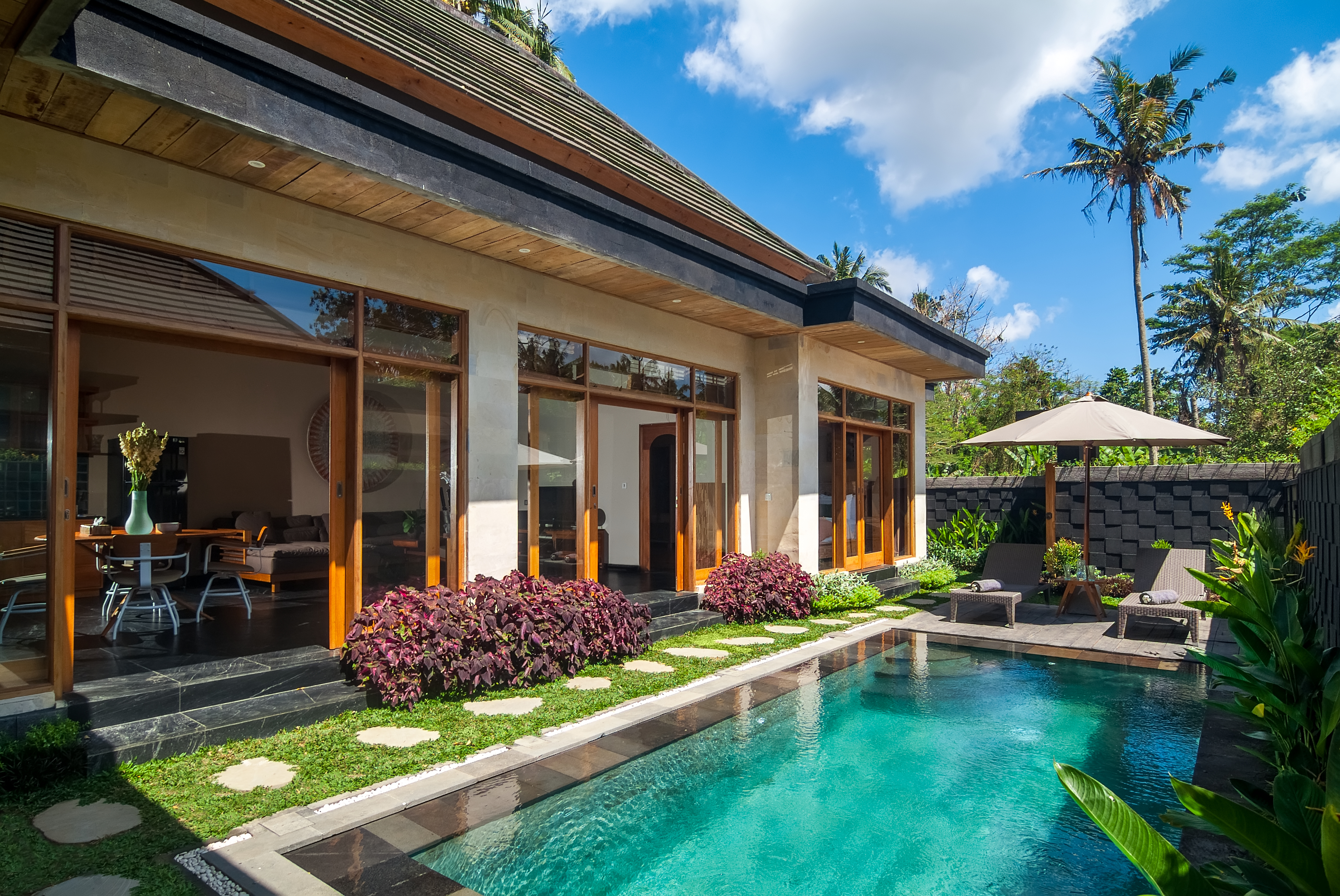 Cozy New Tropical Villa Peaceful With Nature Villas For Rent In Kecamatan Ubud Bali Indonesia