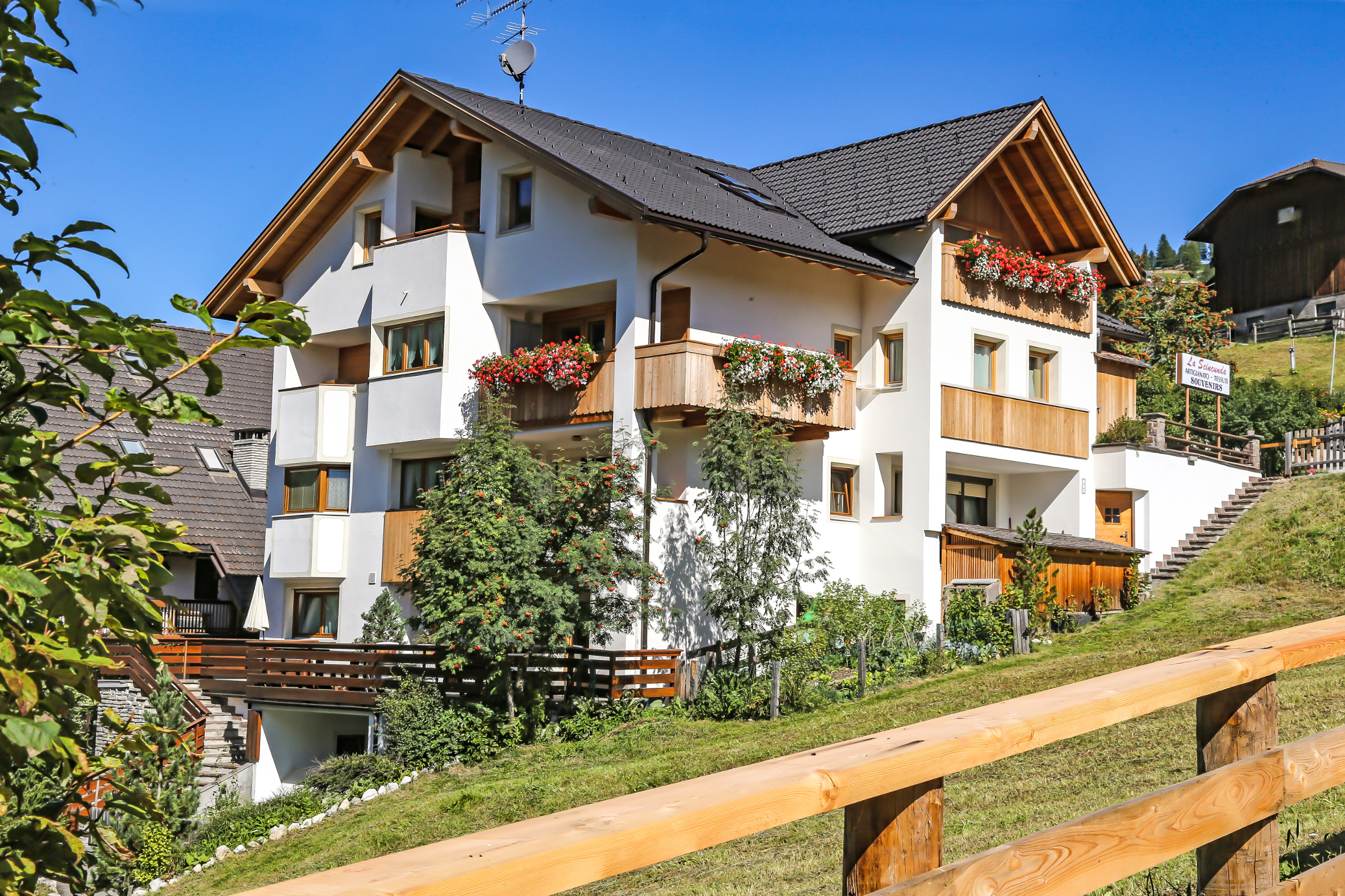 Trentino Alto Adige Artigianato apartment for 4 people, ciasa sandra - apartments for rent