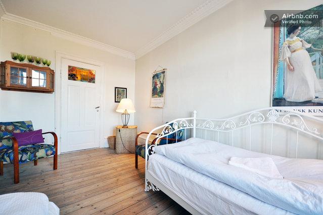 Zimmer mit aussicht im herzen von kopenhagen in kopenhagen for Zimmer mit aussicht