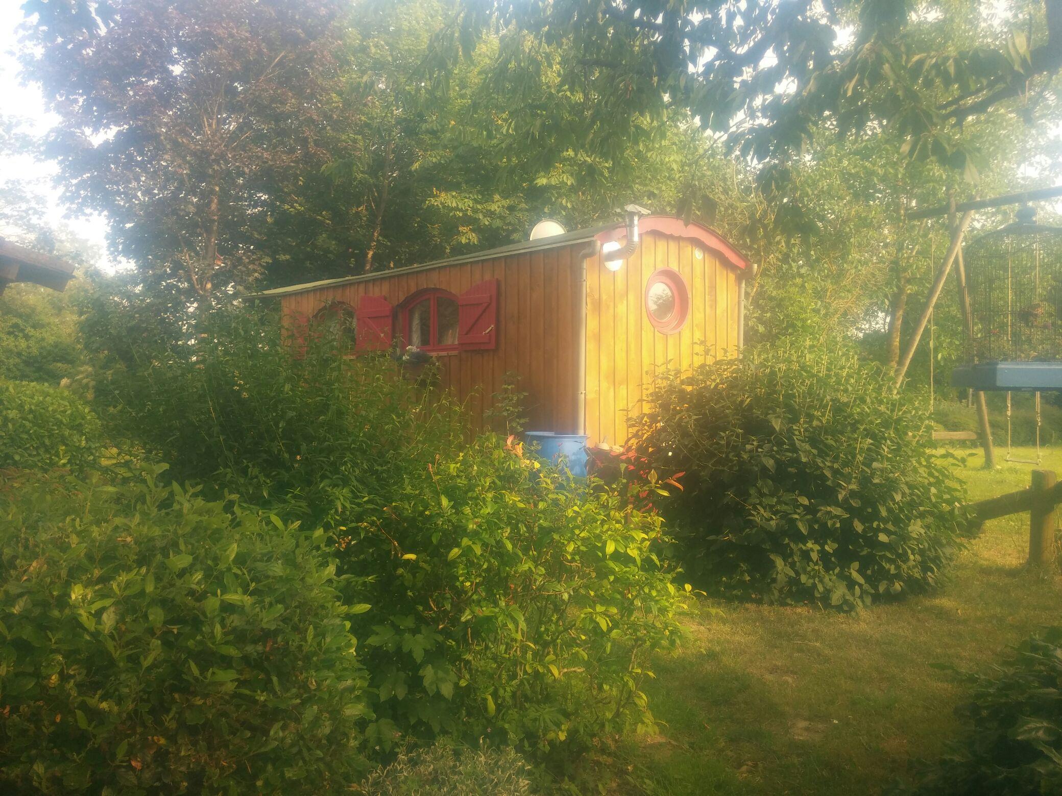 Architecte Paysagiste Midi Pyrénées roulotte - shepherd's huts (u.k., france) for rent in