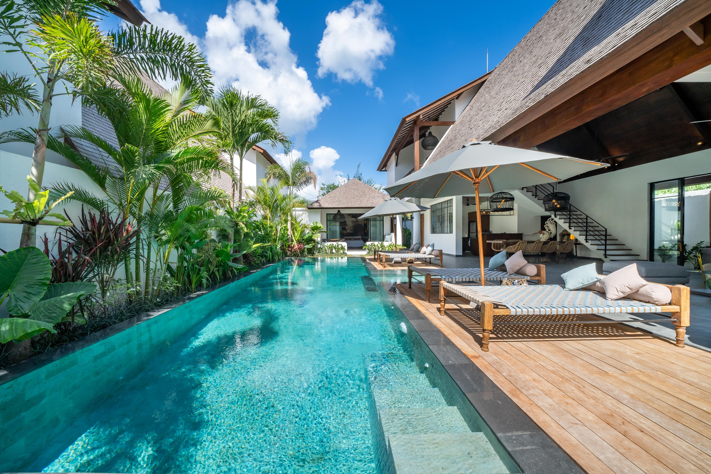 New Villa On Echo Beach Canggu La Residence Anam 3 Villas For Rent In Mengwi Indonesia