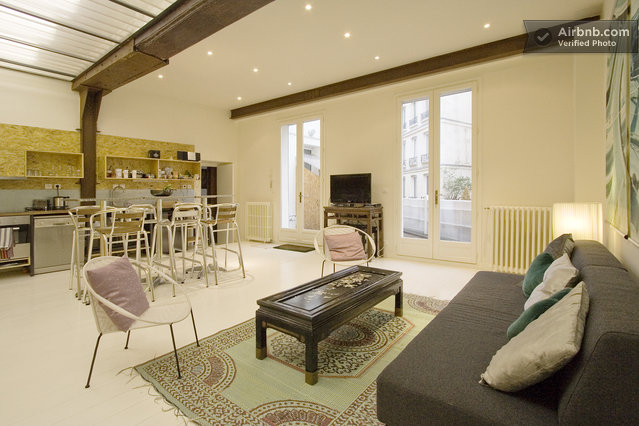 Appartement terrasse paris centre in paris for Appartement atypique terrasse paris