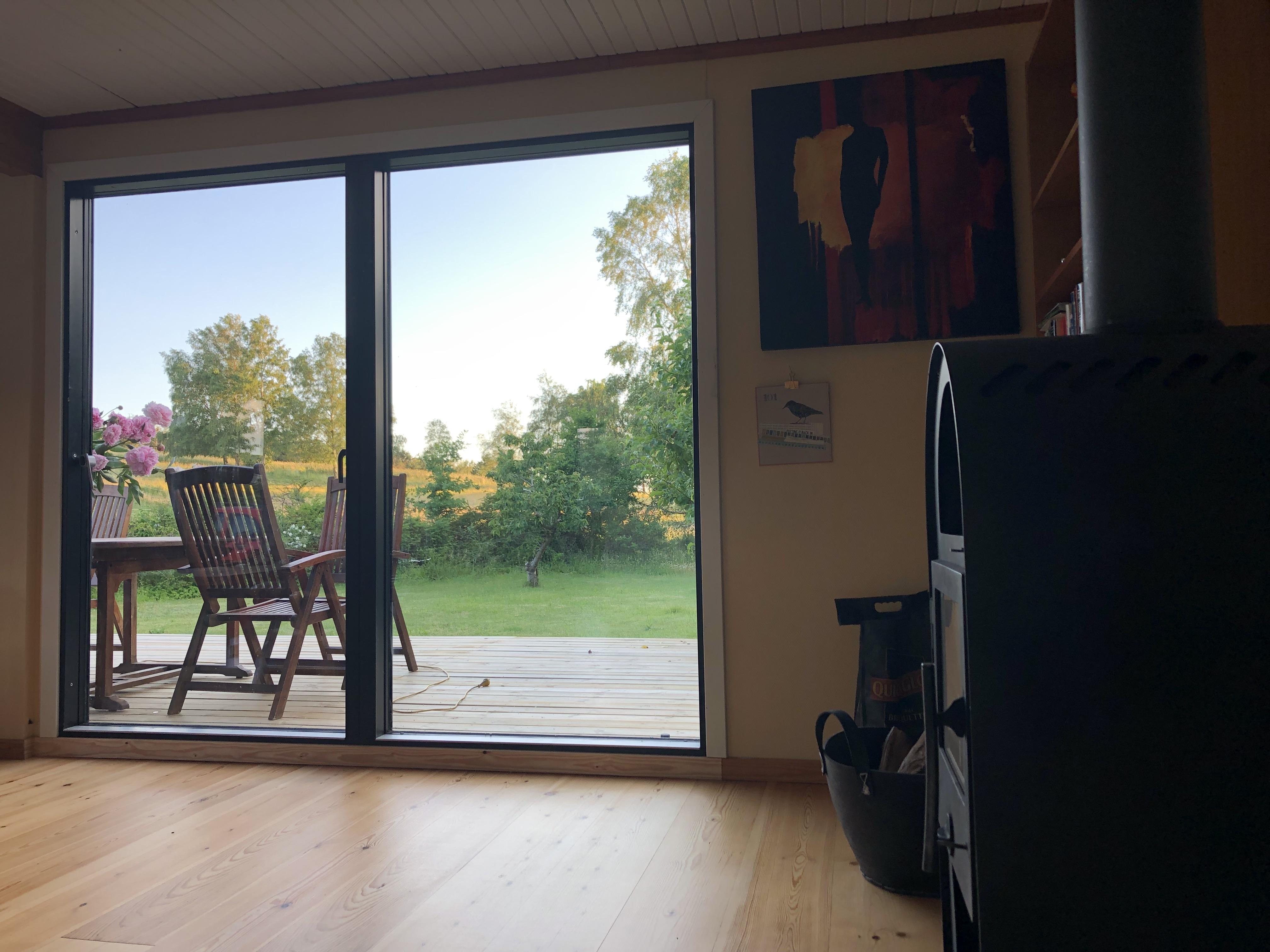 Picture of: Aben Udsigt Til Skov Og Mark Cabanas En Renta En Melby Dinamarca
