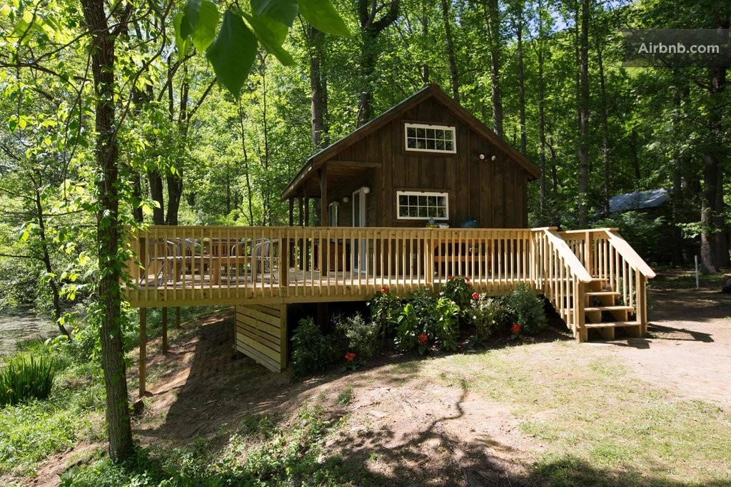 River Cabin From Tiny House Nation In Erwin