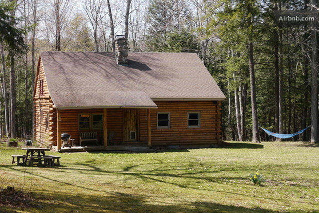 Catskills Secluded Log Cabin In Cornwallville
