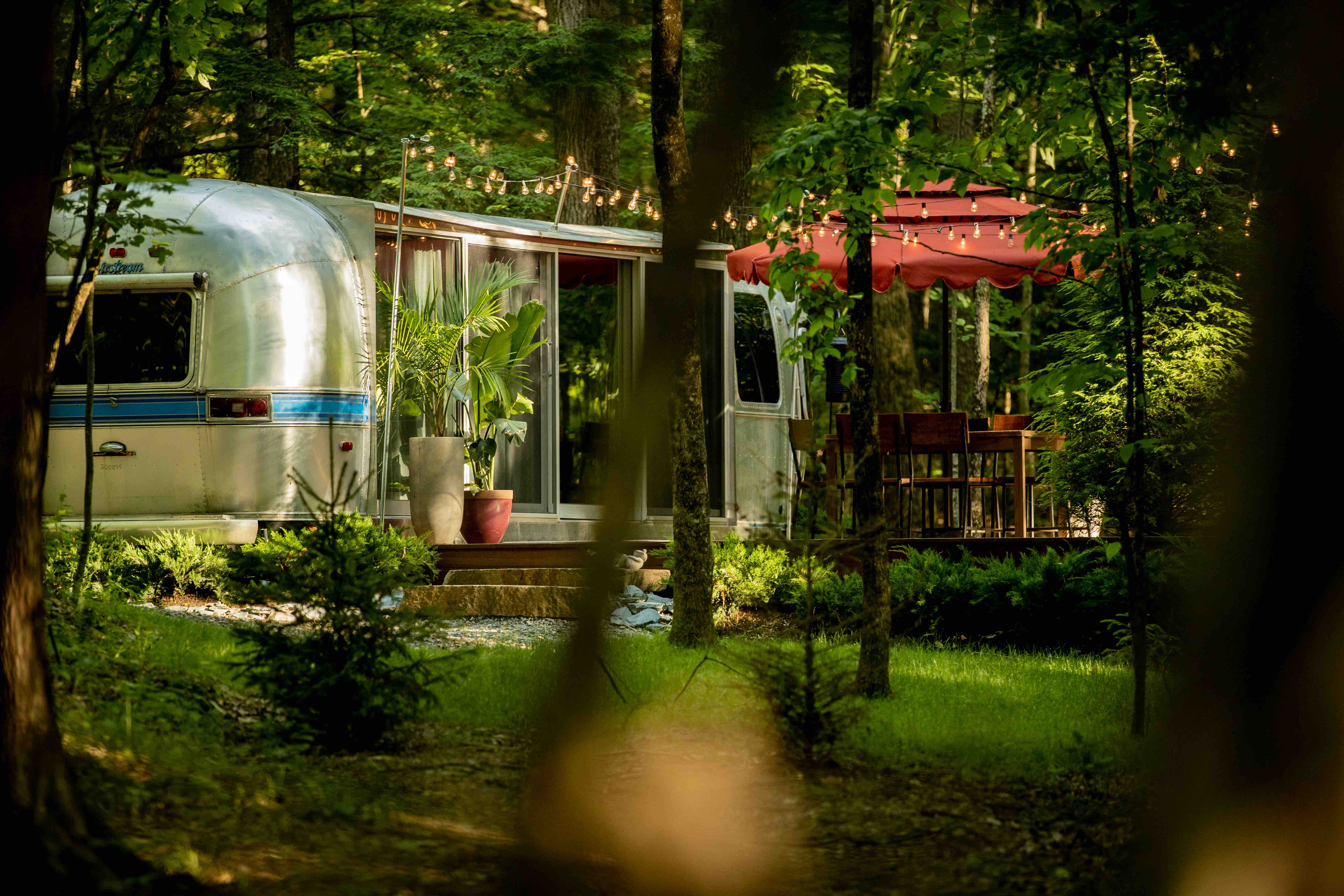 The Airstream At June Farms Cabins For Rent In West Sand Lake New York United States