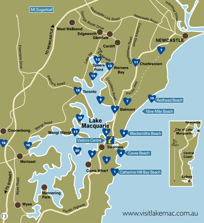 map of lake macquarie fishing spots Absolute Waterfront Luxury House Houses For Rent In Mannering map of lake macquarie fishing spots