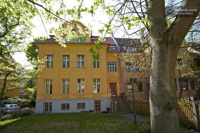 Jugendstil villa zentral garten - Garten jugendstil ...