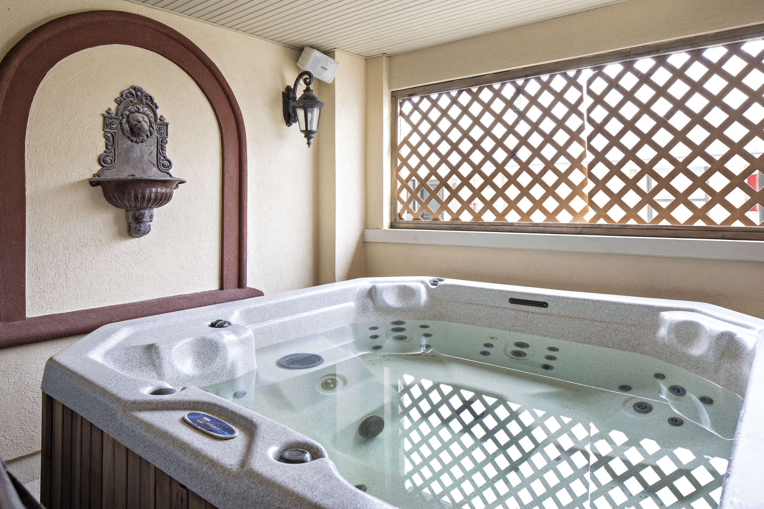 airbnb with pool and jacuzzi near me