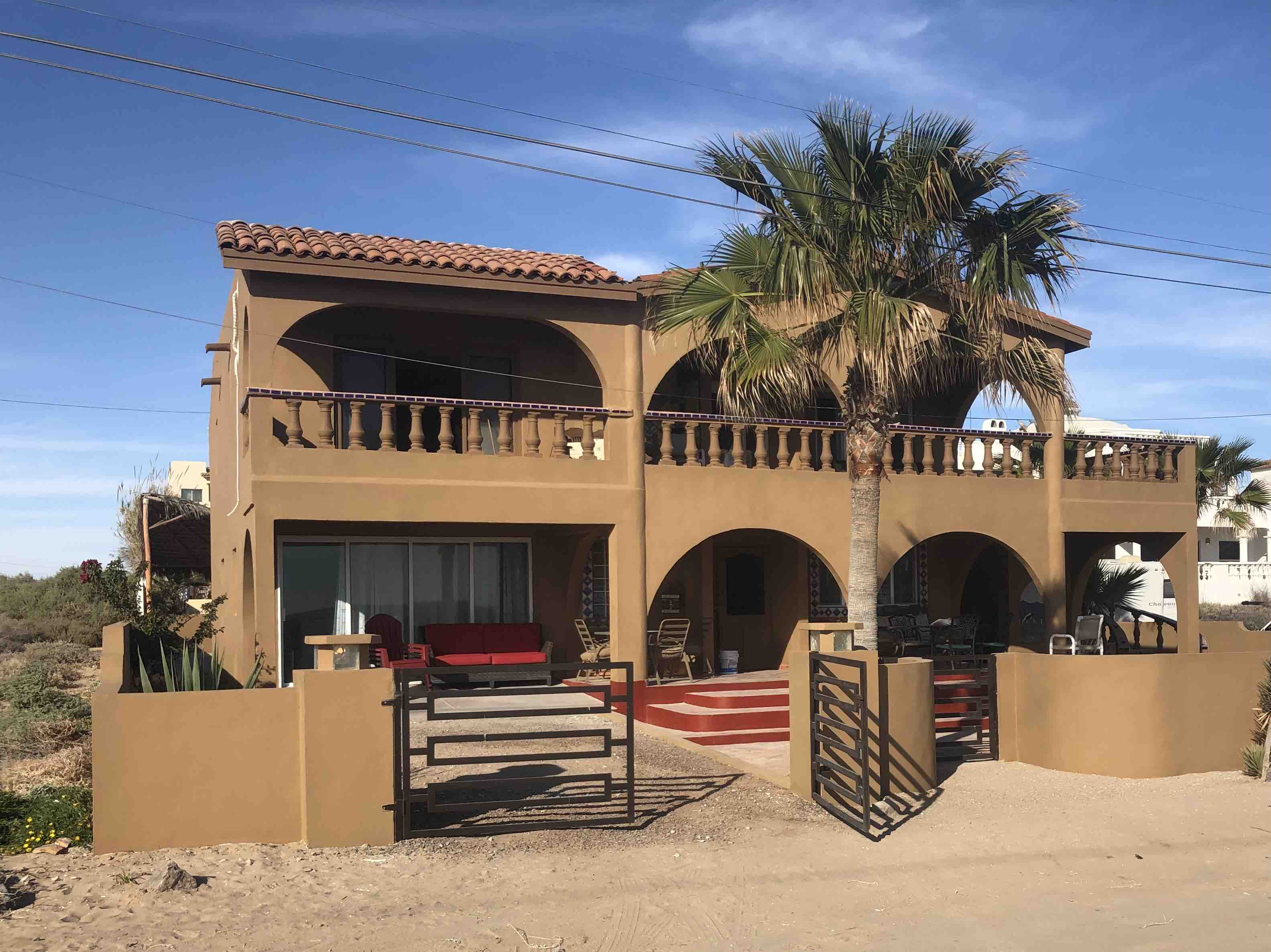 Christmas Puerto Penasco 2021 Approved Covid Beach Front Home For Large Families Houses For Rent In Puerto Penasco Son Mexico