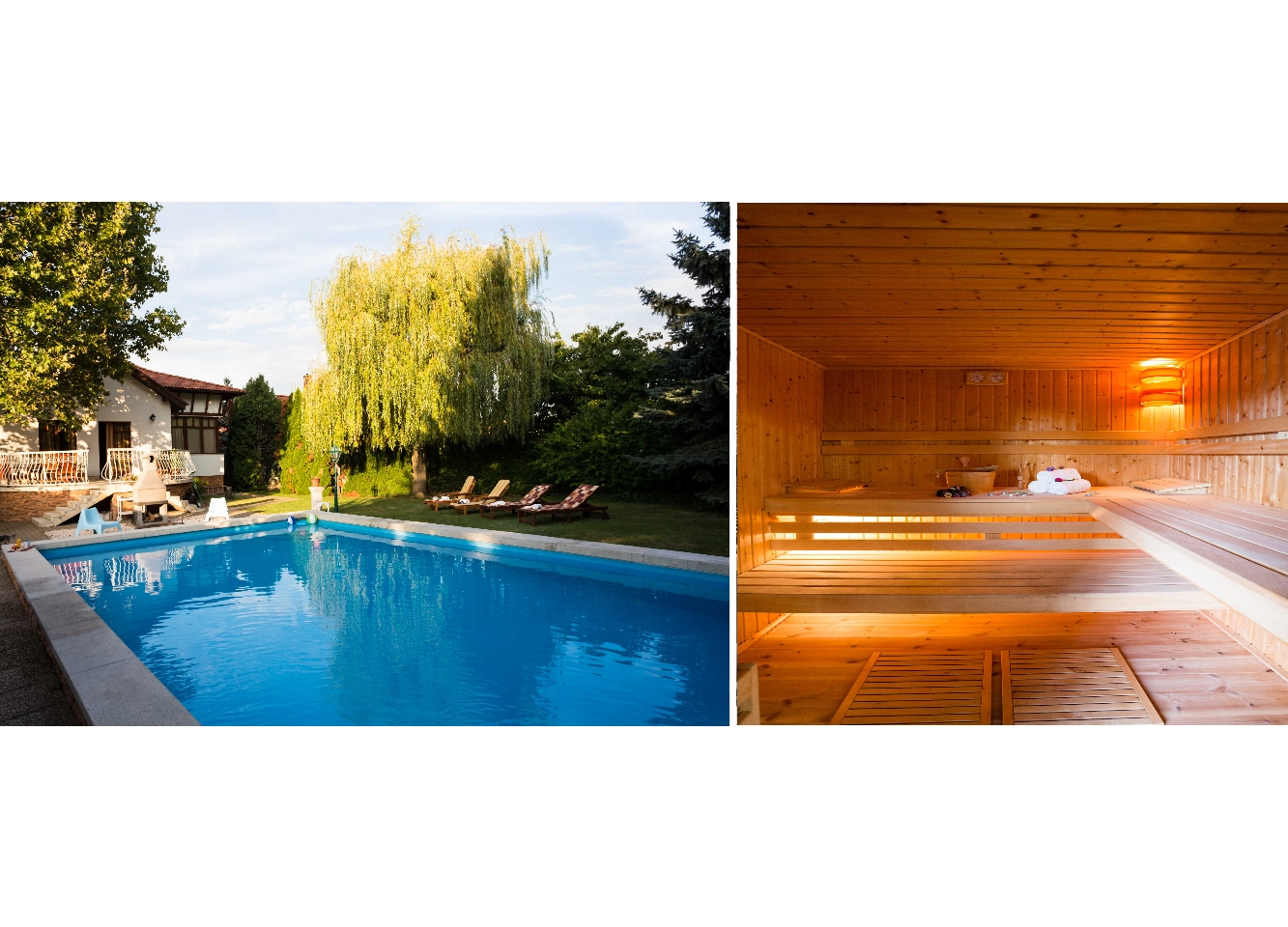 Garden With Swimming Pool mercedes garden – villa with swimming pool + sauna - houses