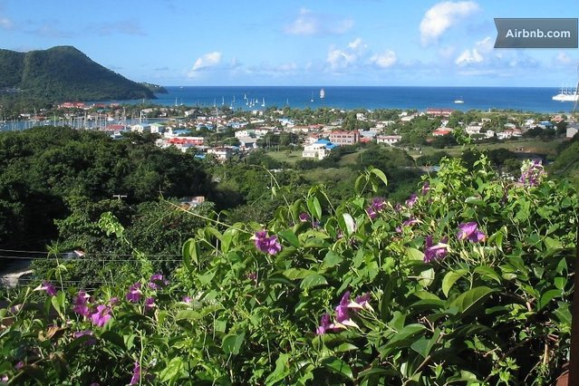 Lapanache apartment stunning views in Gros Islet