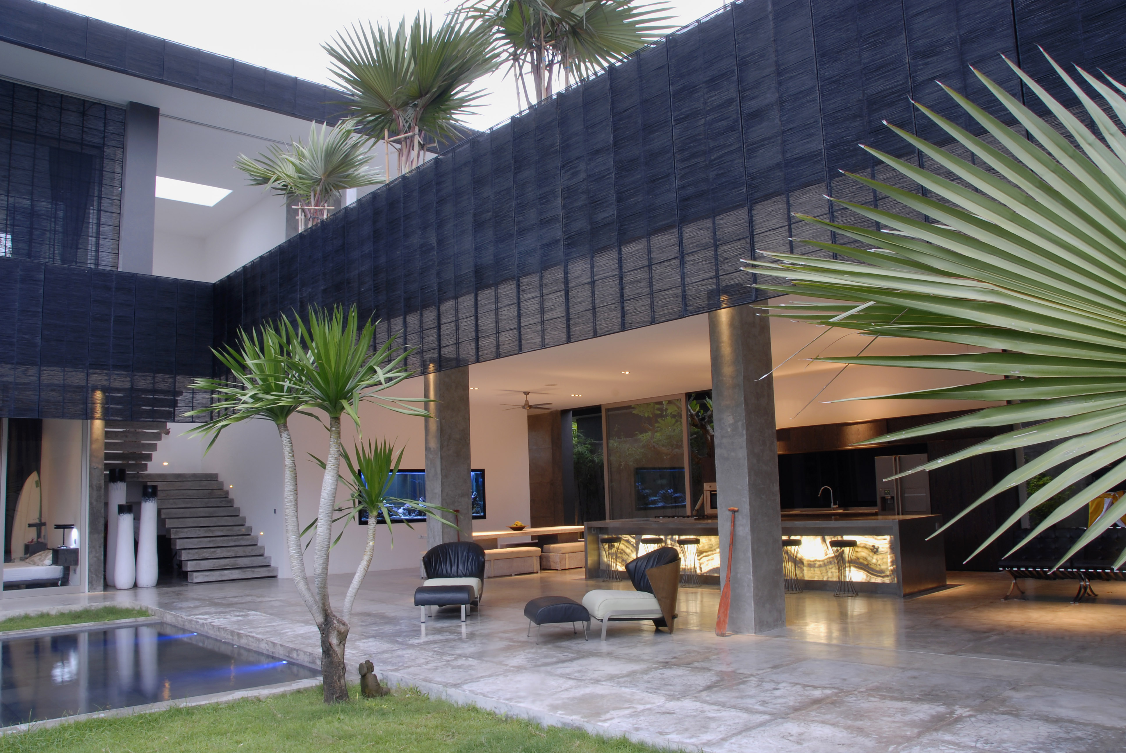 Modern 4bd Villa With Pool Villas For Rent In Kuta Bali Indonesia