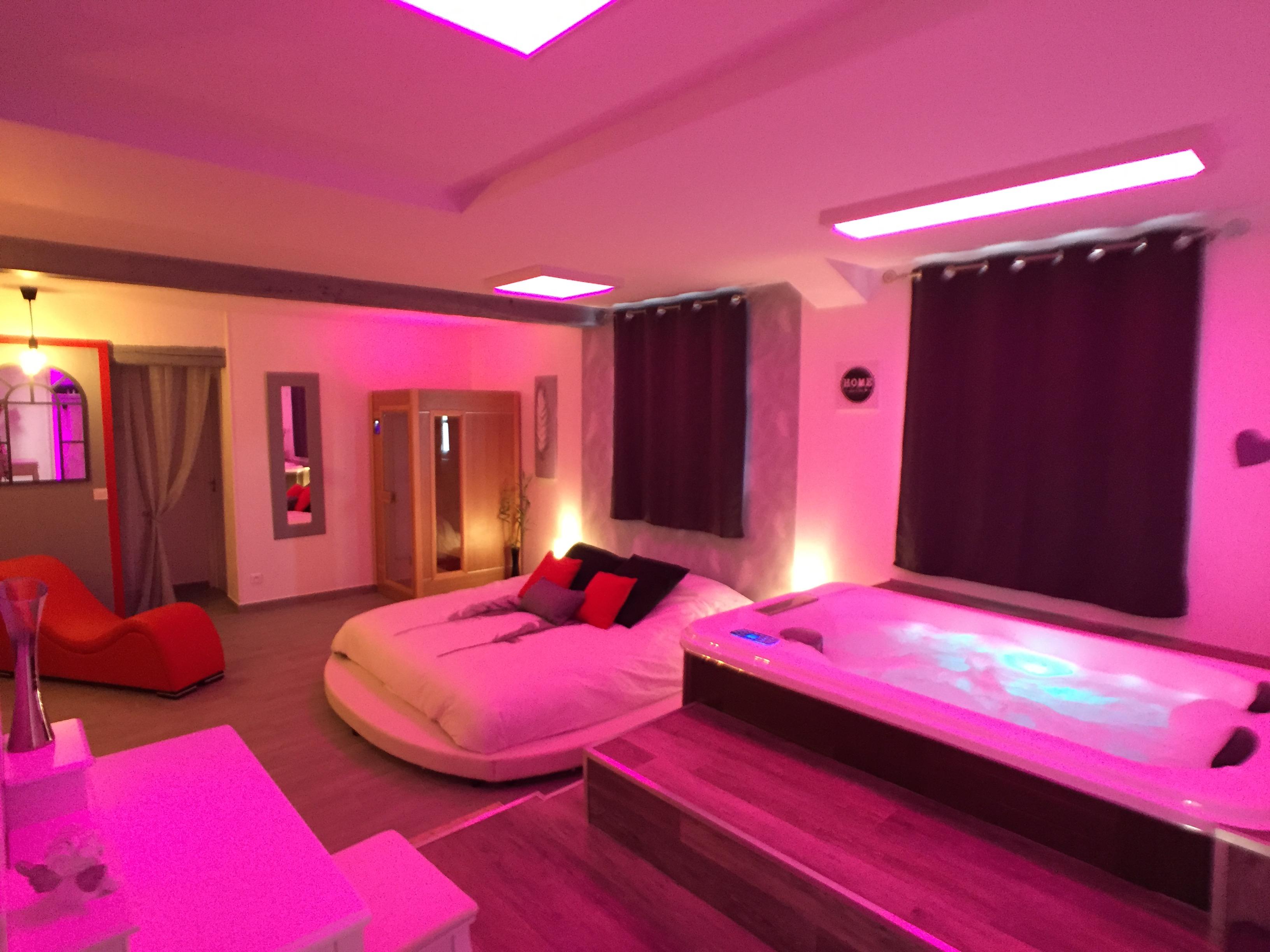 Suite Cupidon Ambre Spa Et Sauna Privatif Apartments For Rent