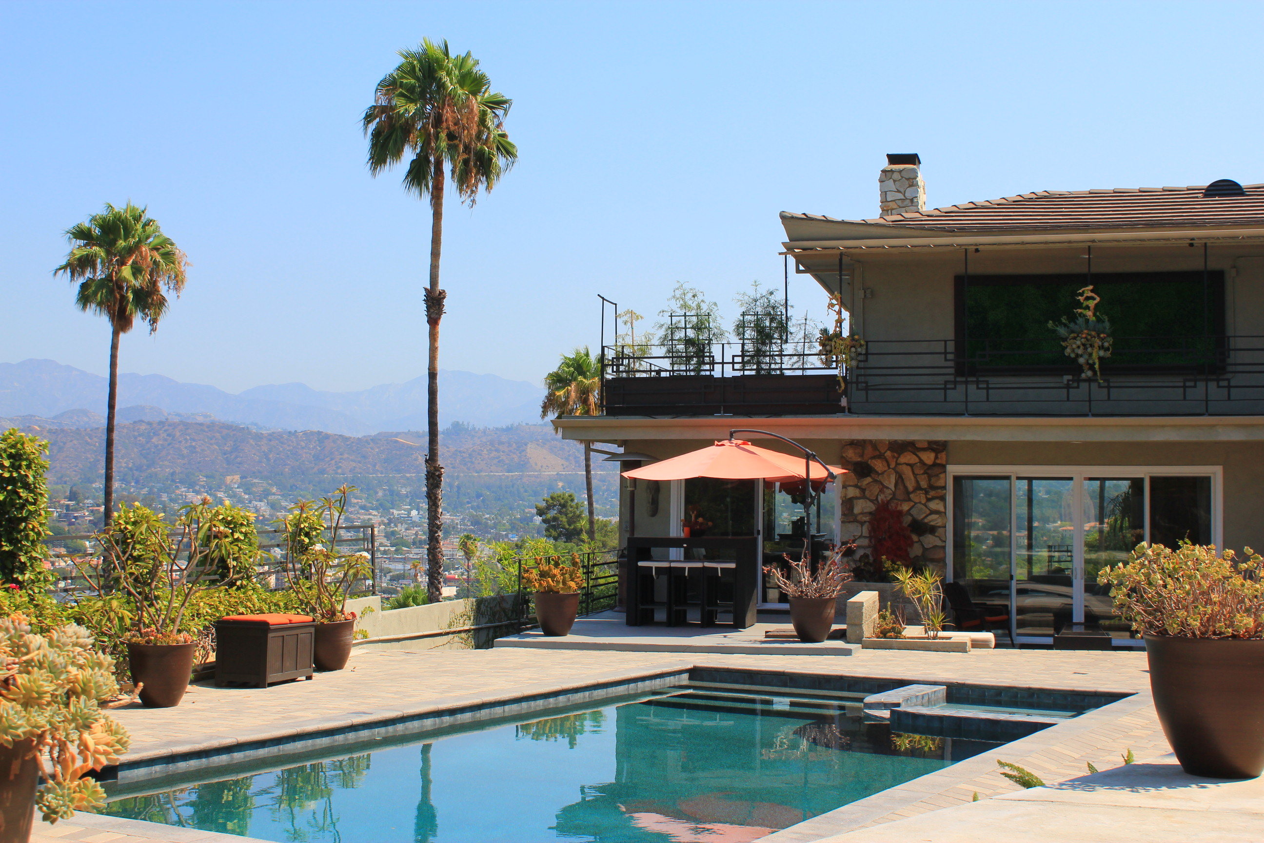 Private Pool House With Amazing Views Guesthouses For Rent In Los Angeles California United States