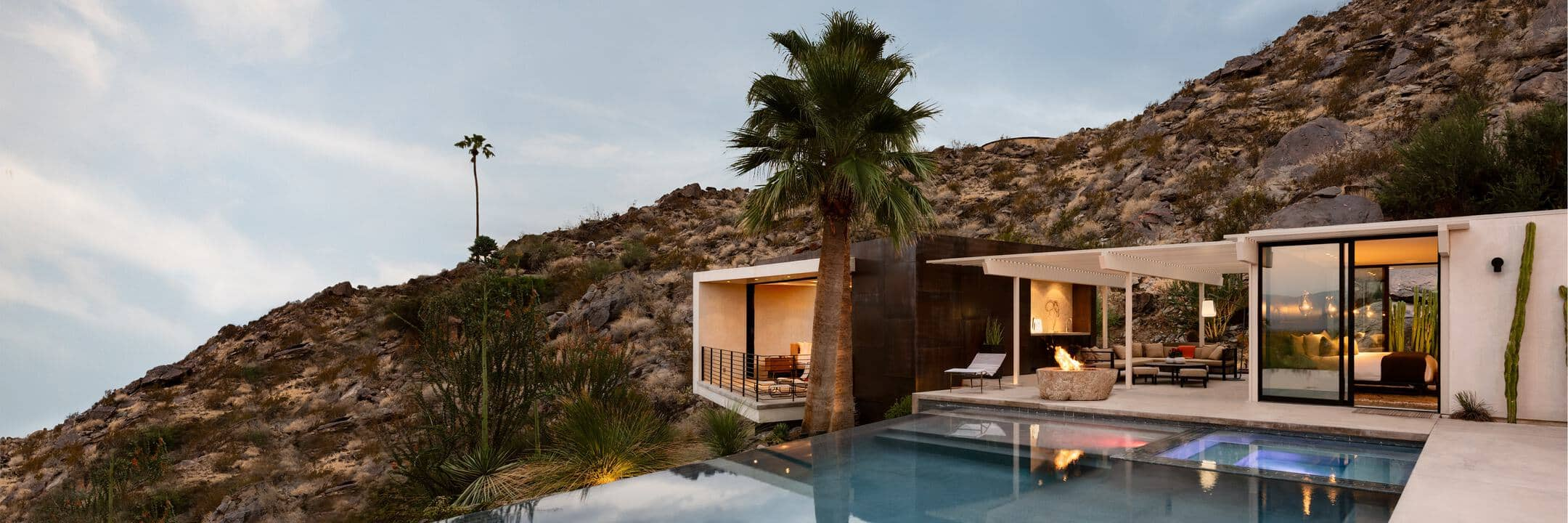 Luxury rentals in Palm Springs
