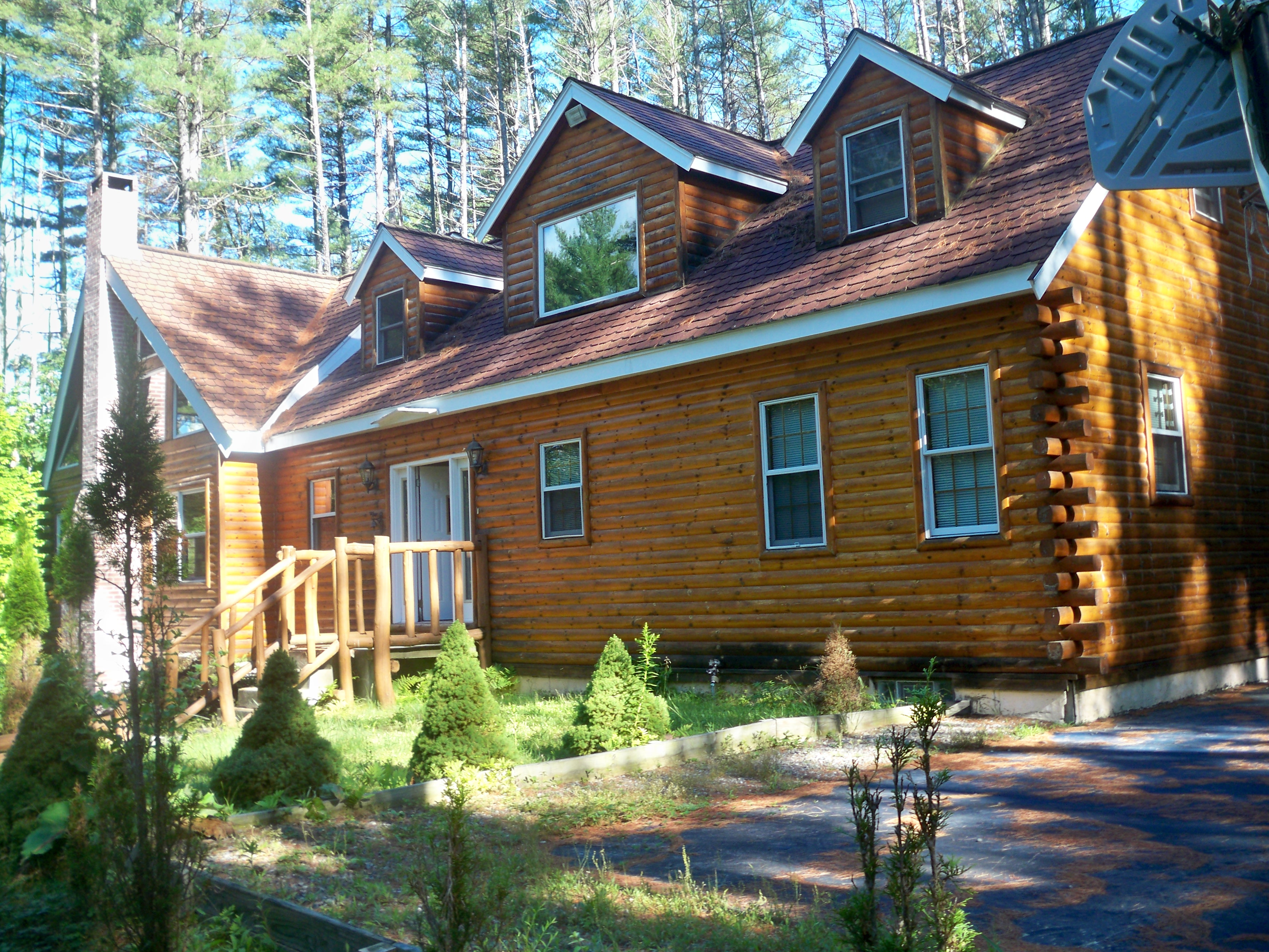 Spectacular Log Home With Indoor Pool And Hot Tub Houses For Rent In Campton New Hampshire United States