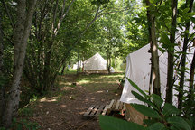Luxurious Bell Tents in Portugal