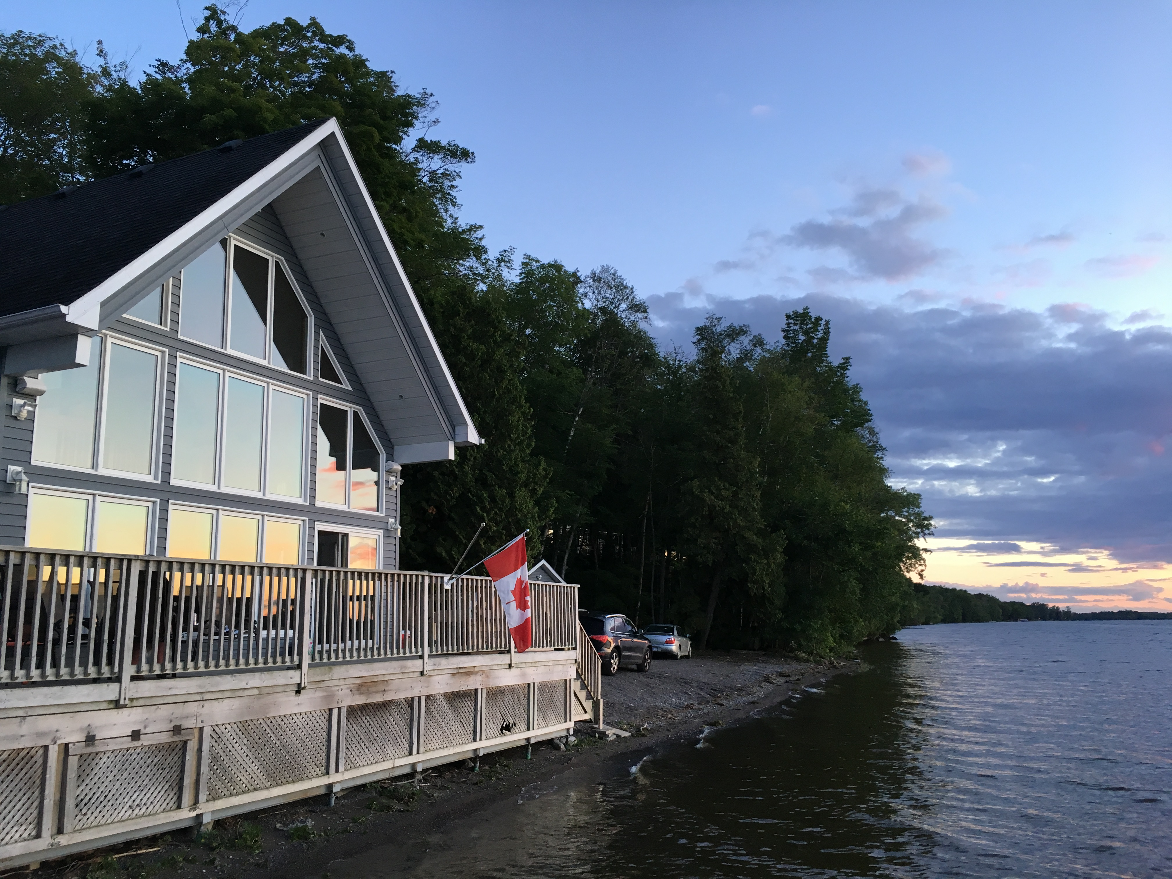 Muskoka Style Lakefront Cottage with Pool & Sauna   Cottages for ...
