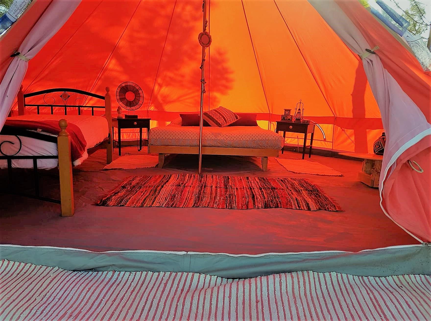 Coral Musa Tent Tenten te Huur in Aljezur, Faro, Portugal