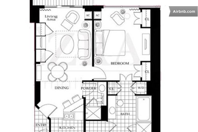 mgm signature one bedroom balcony suite floor plan - 28 images ...