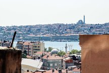Golden Horn from your terrace-BLUE