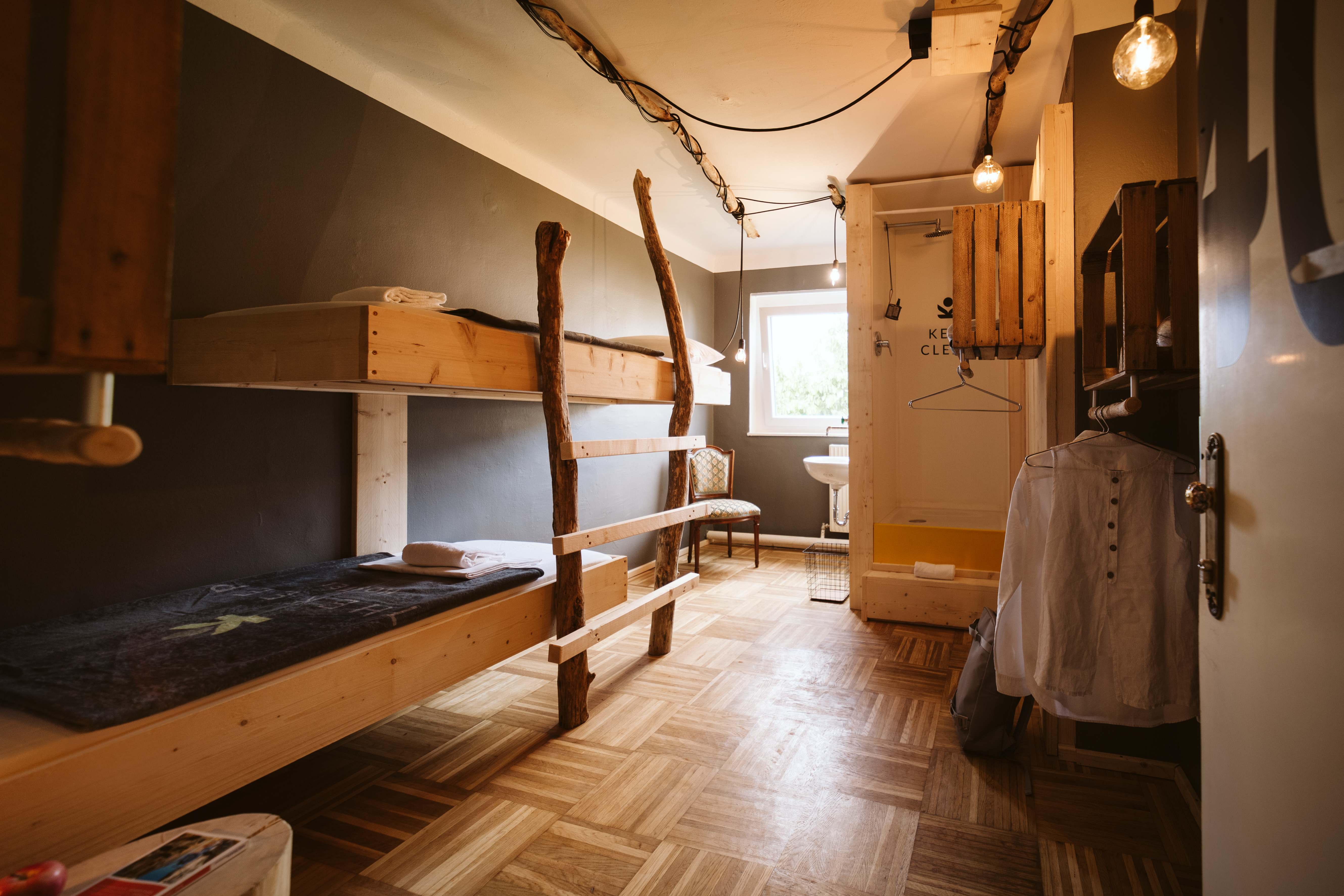 The Keep Eco Residence Twin Room 406 With Shower Hostels For Rent In Salzburg Salzburg Austria