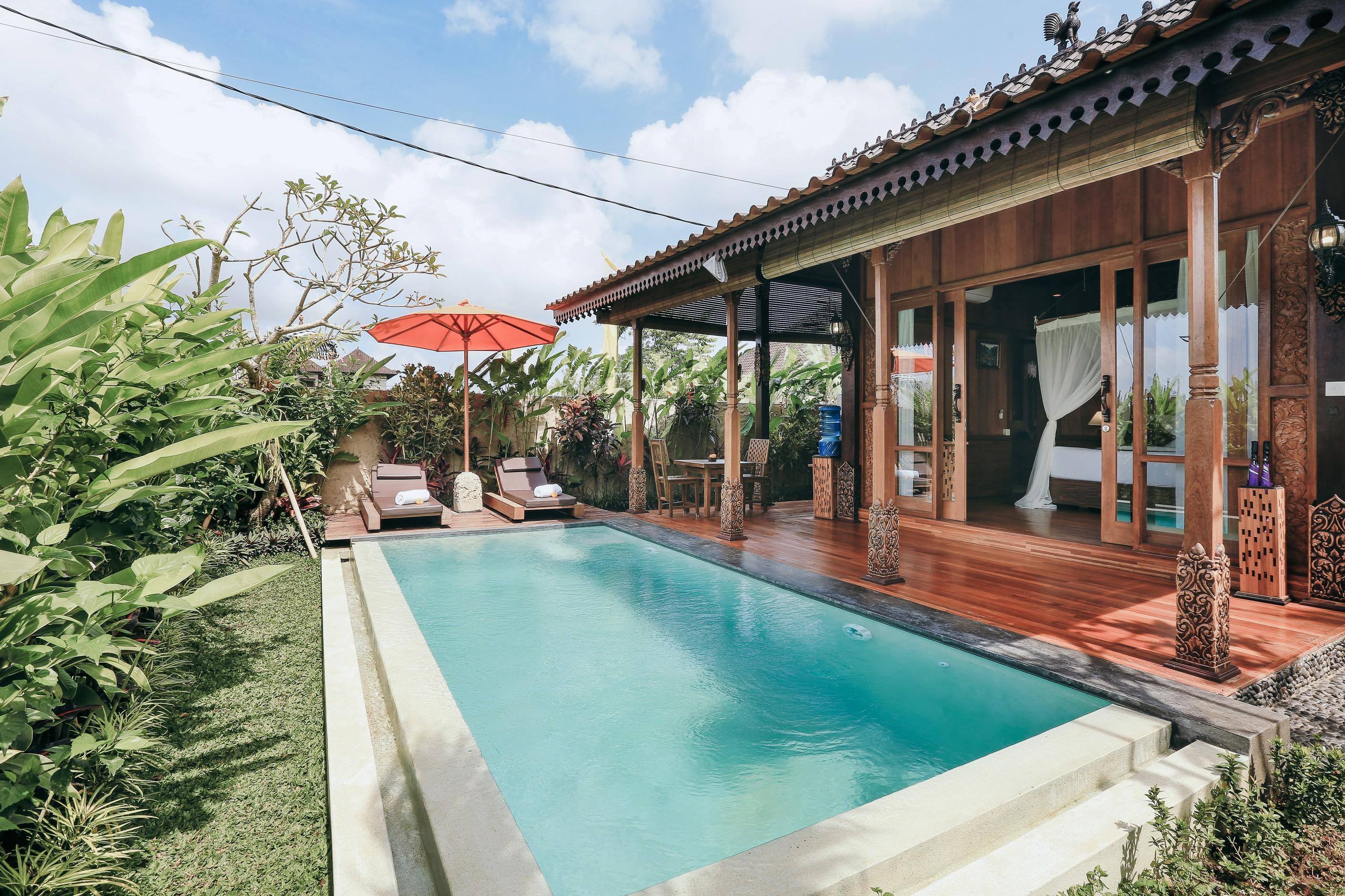 Candy Villa Manggo Villa Villas For Rent In Ubud Bali Indonesia