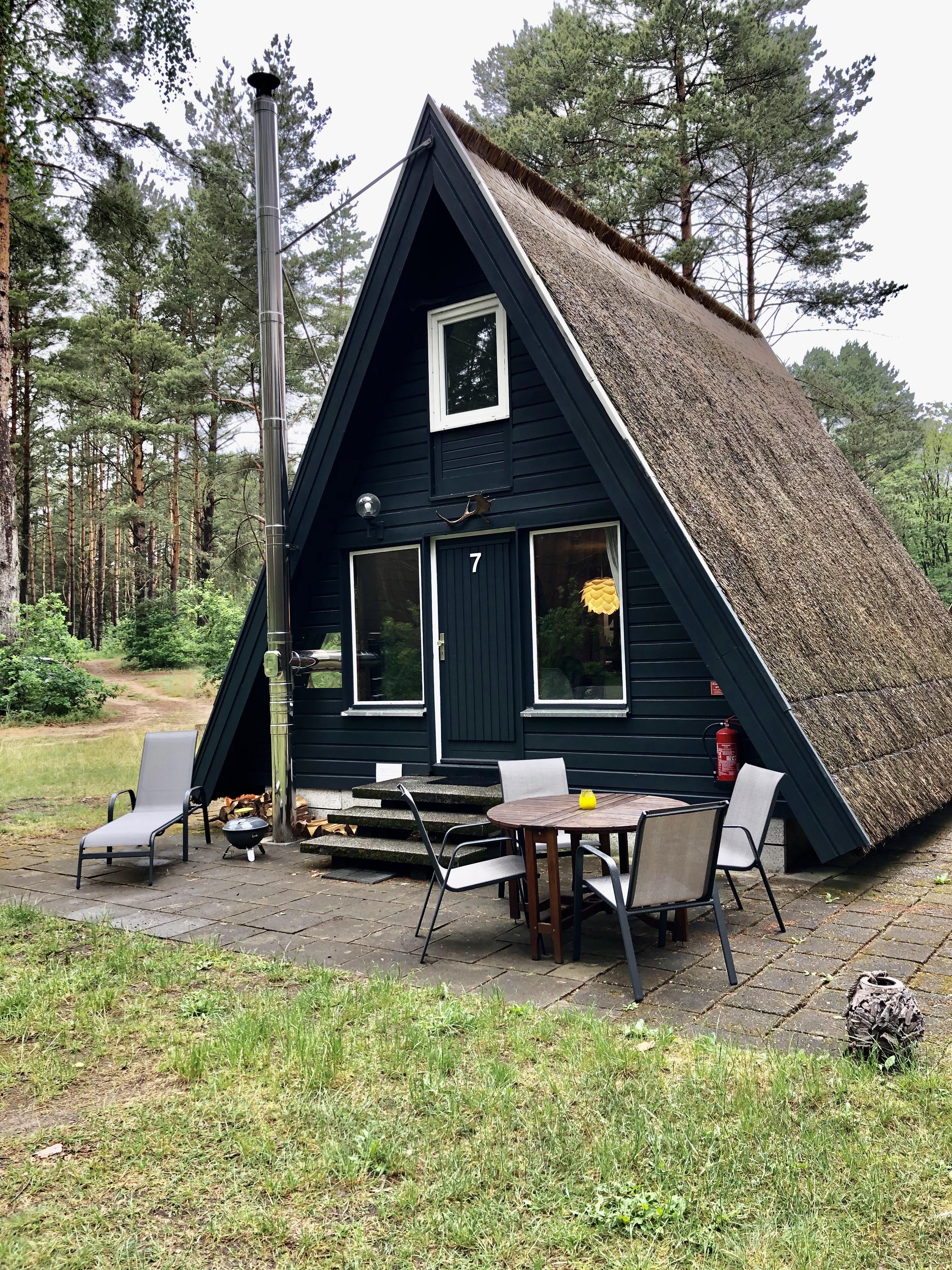 Finnhütte Wilma mit Zugang zu Privatstrand   Bungalows zur Miete ...