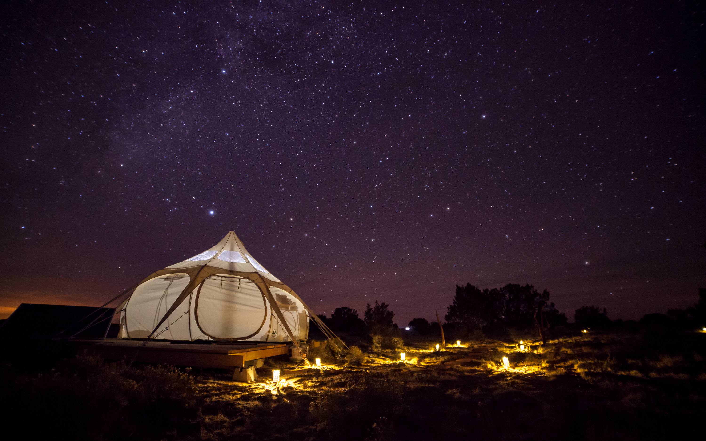 Glamp Like A Pro In The Lotus Yurt Yurts For Rent In Williams Arizona United States