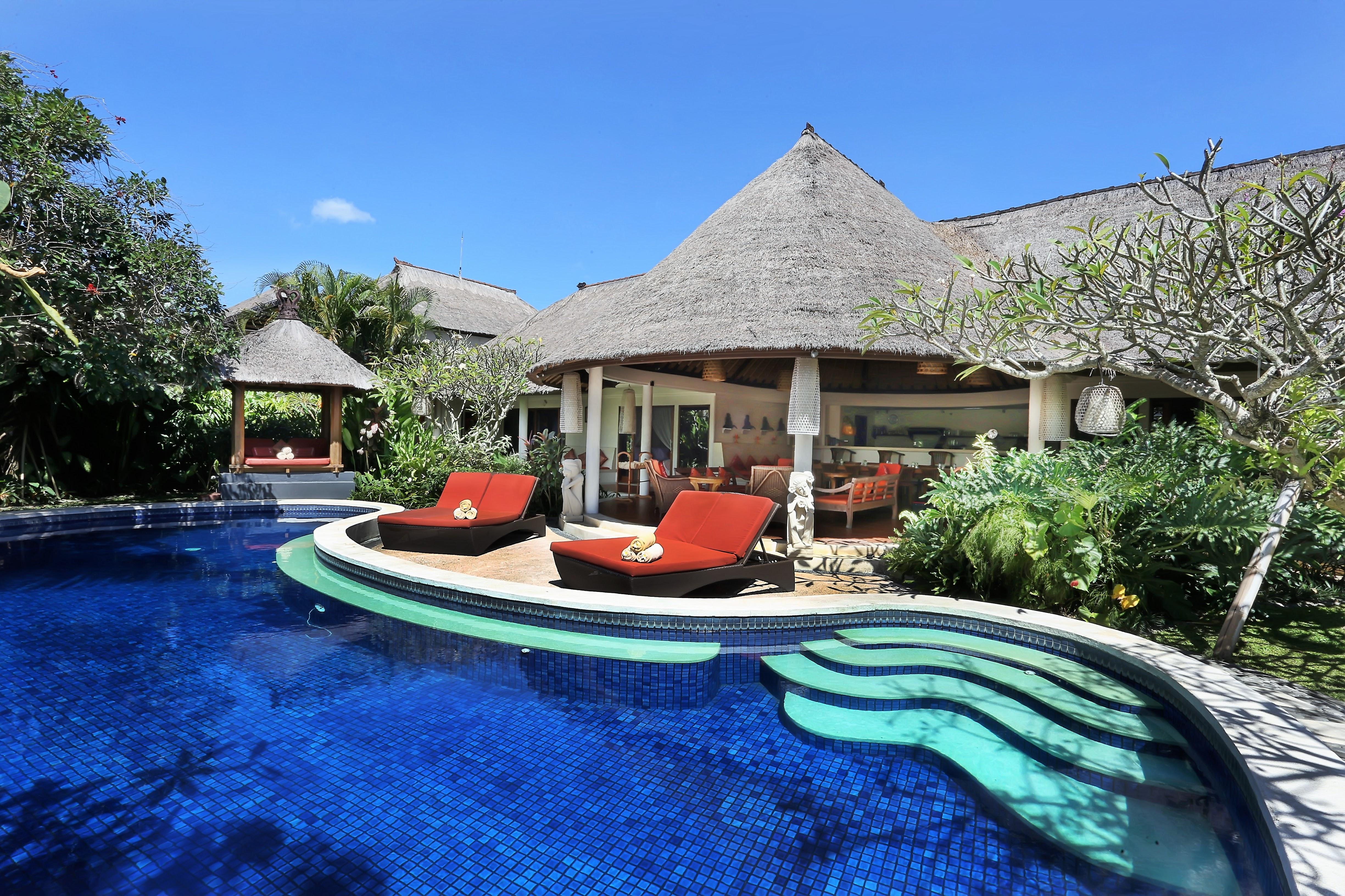 5 Bedroom Spacious Villa Private Pool Seminyak Villas For Rent In Seminyak Bali Indonesia