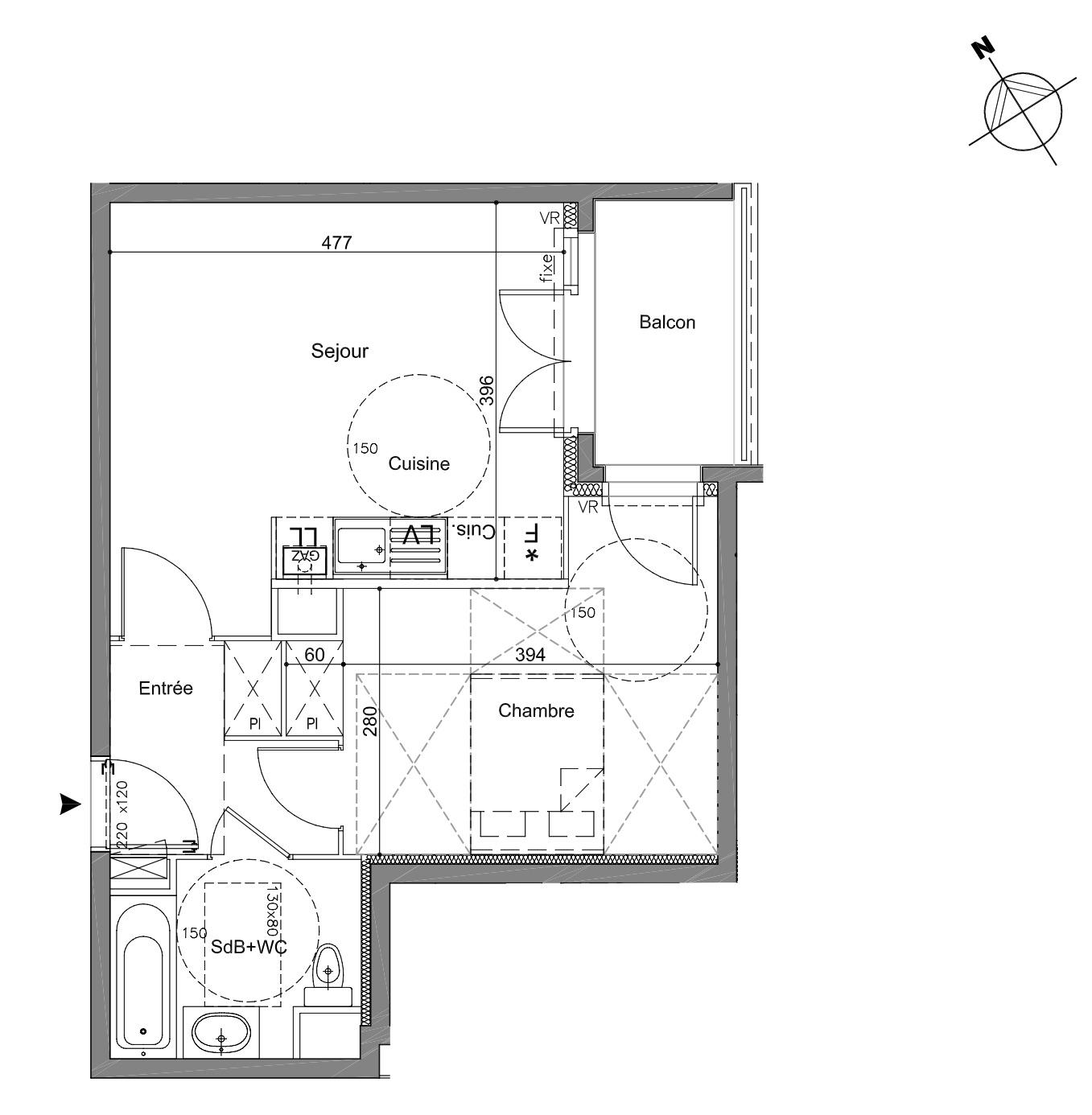 Appartement T19 face au Château de Ferrières - Departamentos en