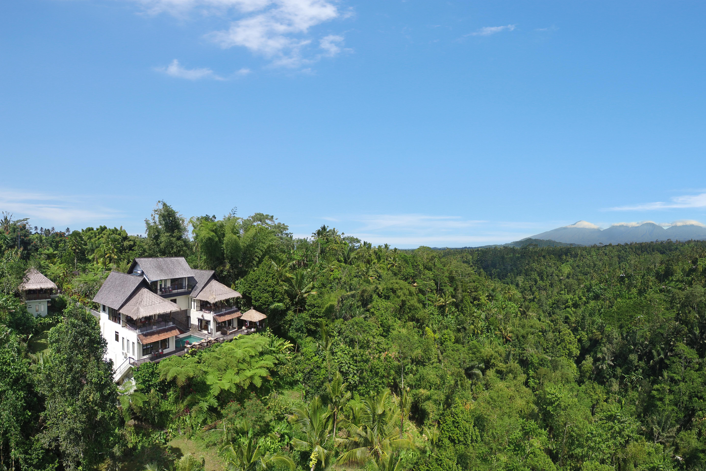 Private Jungle Villa 5 Service Waterfall Villas For Rent In Gianyar Bali Indonesia