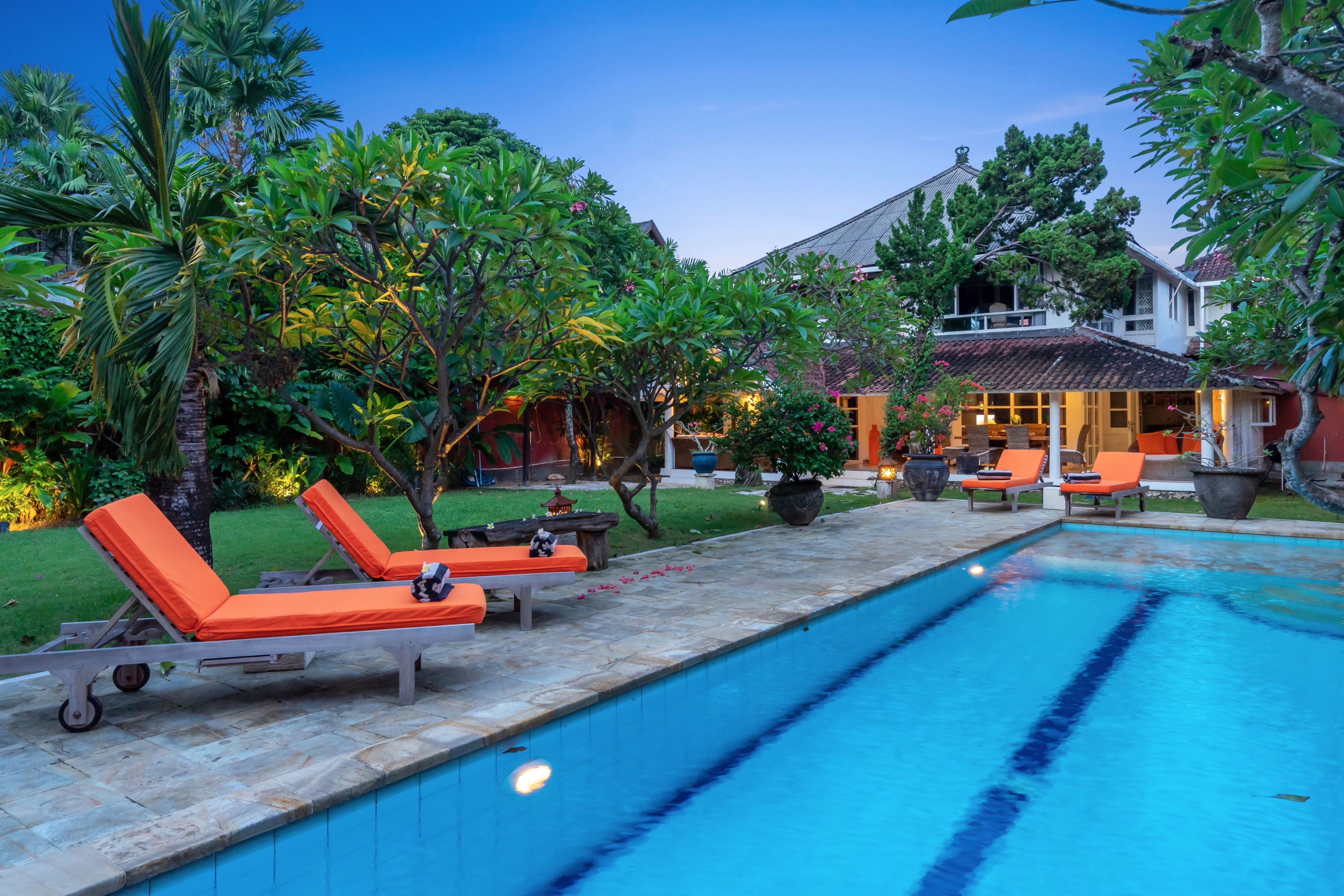 Villa Kubuku Double 6 Seminyak 4 Rooms Villas For Rent In Kuta Bali Indonesia