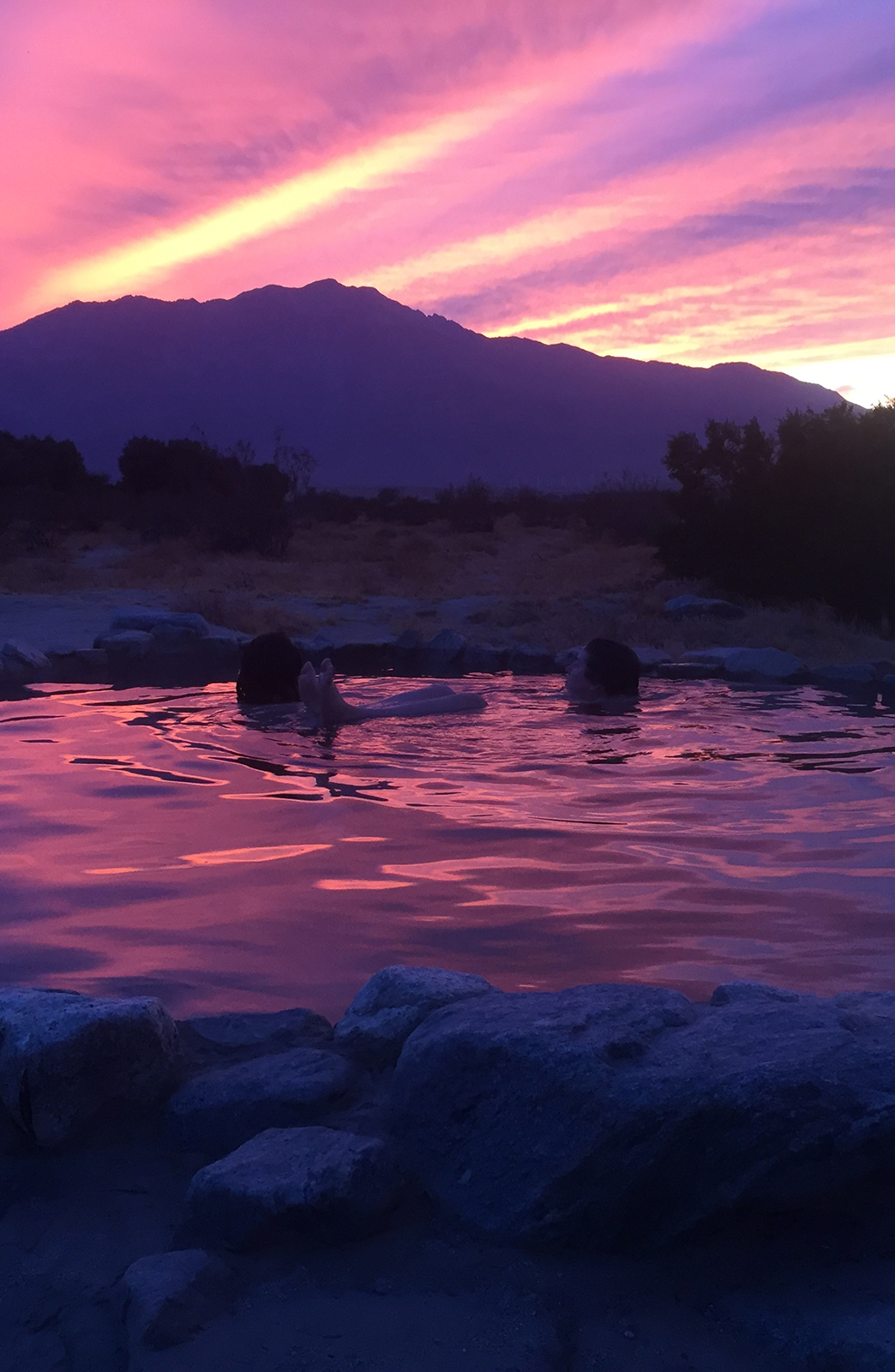 Hot Spring Sunset for Two Airbnb