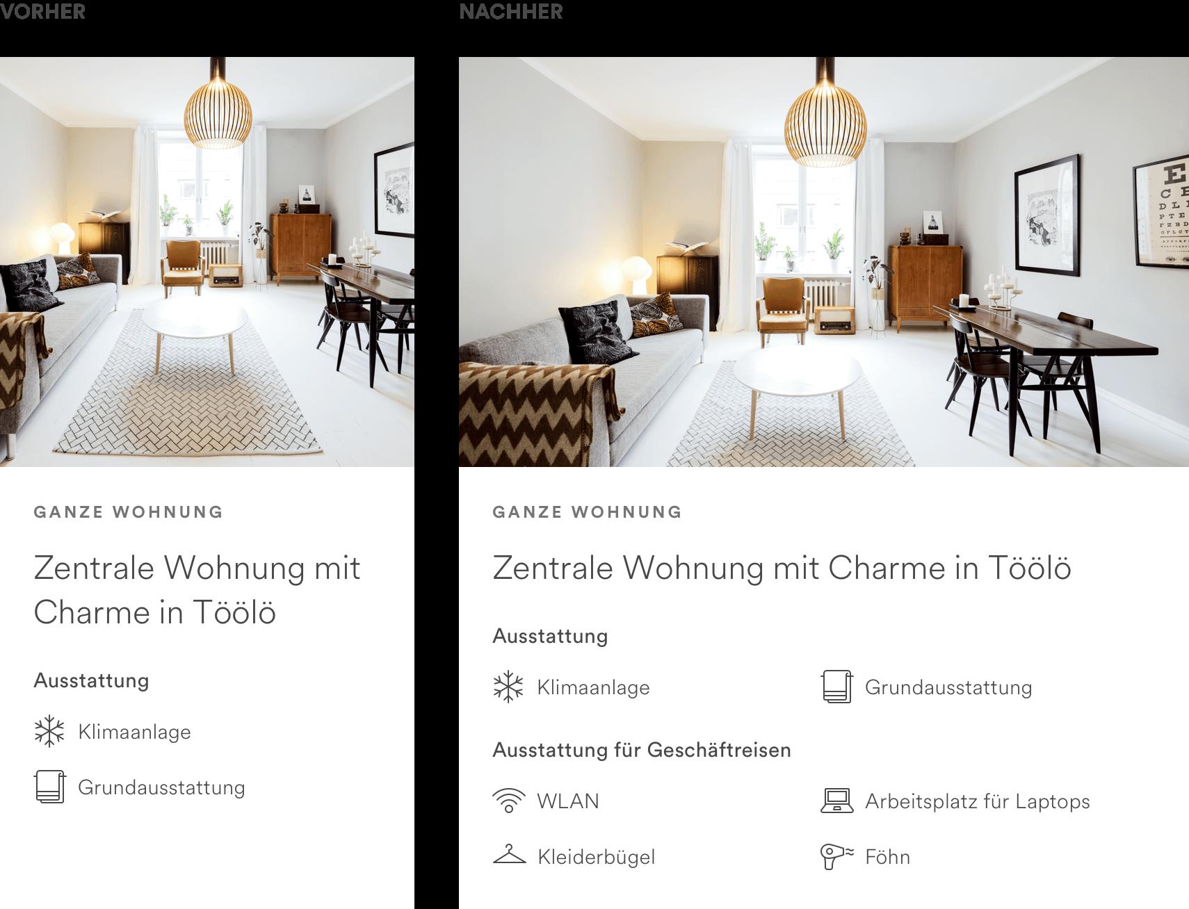 das ist neu f r gastgeber bei airbnb. Black Bedroom Furniture Sets. Home Design Ideas
