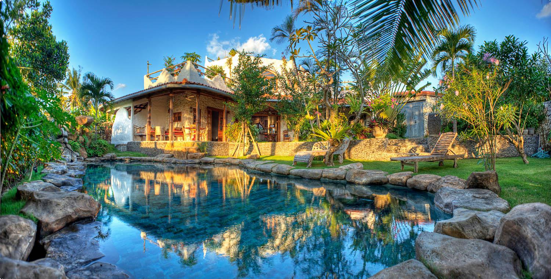 Mediterranean 3br Villa Near Echo Beach Canggu Villas For Rent In Kecamatan Kuta Utara Bali Indonesia