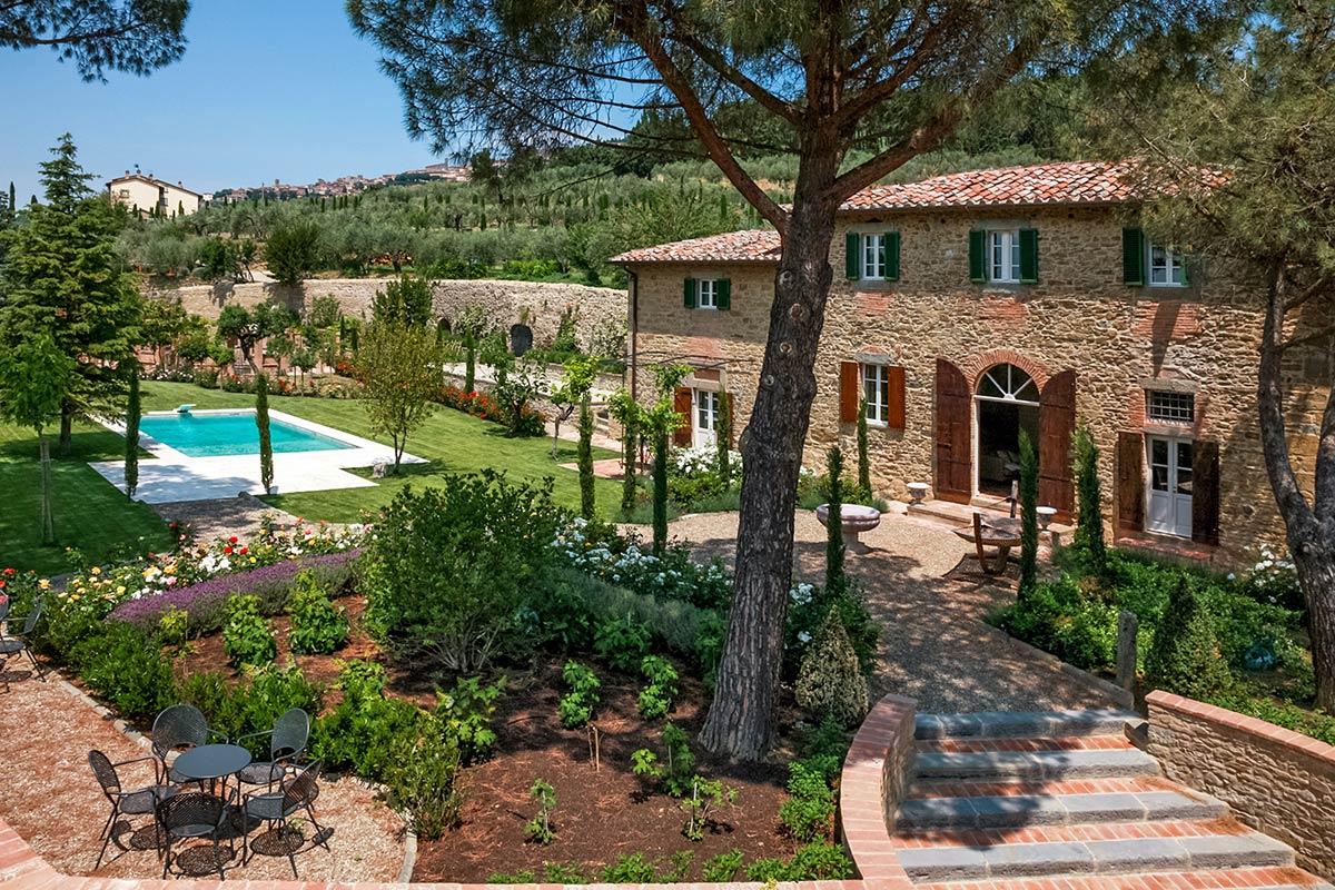 Villa Laura   Villen zur Miete in Cortona, Arezzo, Italien